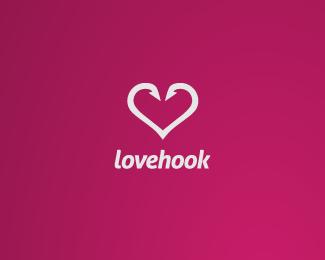 edd7c7b38a43d13268d0eebb2dfbecd51 45 Heart and Love Logo Designs
