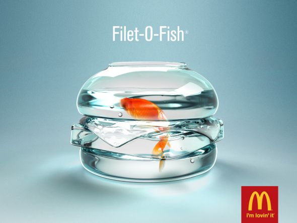 fillet o fish preview1 35 Creative McDonalds Corp Advertising Practices