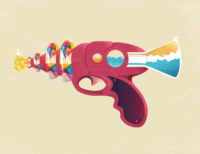 gemerald blaster1 20 Exclusive Raygun Concepts for Raygun52