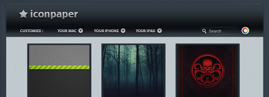 iconpaper 10 Top Notch iPad Wallpaper Websites