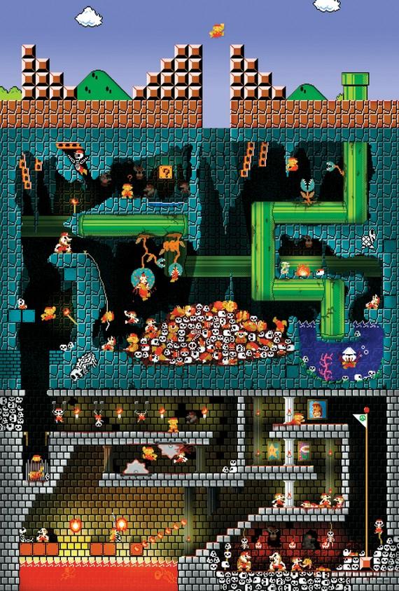 il 570xn 2340293471 50 Incredible Super Mario Bros Artworks