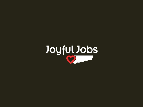 joyfuljobs1 45 Heart and Love Logo Designs