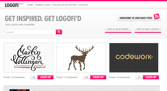 logofi 20 Fabulous Websites for Logo Design Inspiration