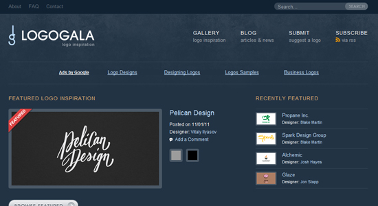 logogala 20 Fabulous Websites for Logo Design Inspiration
