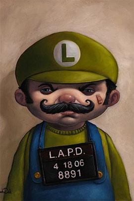 luigi 01 s1 50 Incredible Super Mario Bros Artworks