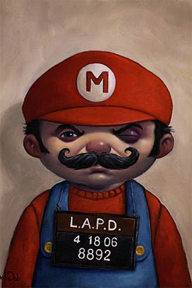 mario 01 s1 50 Incredible Super Mario Bros Artworks