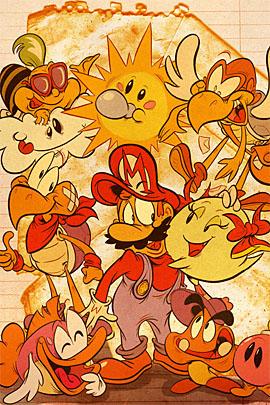 mario 07 s1 50 Incredible Super Mario Bros Artworks