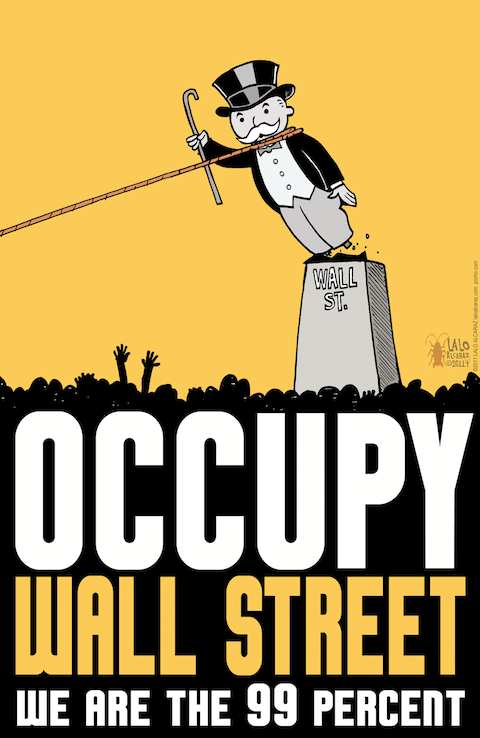 monopolytower1 40 Exciting Occupy Movement Poster Designs