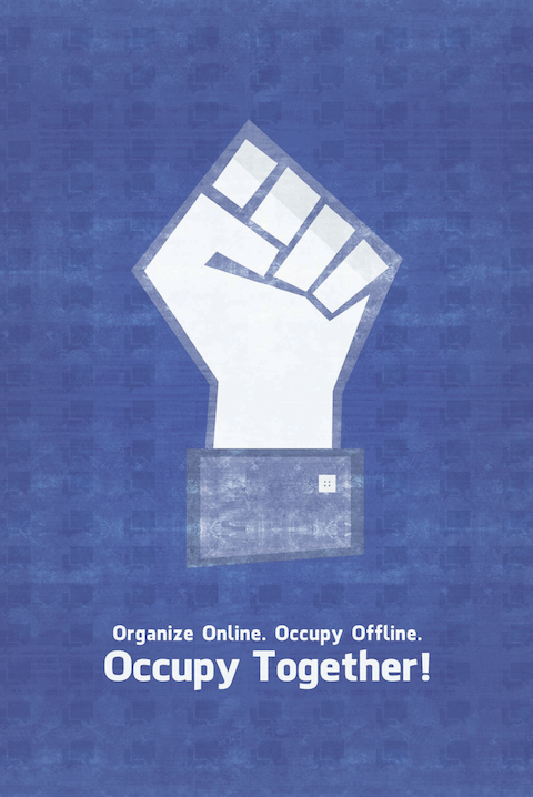 organizeonline1 40 Exciting Occupy Movement Poster Designs
