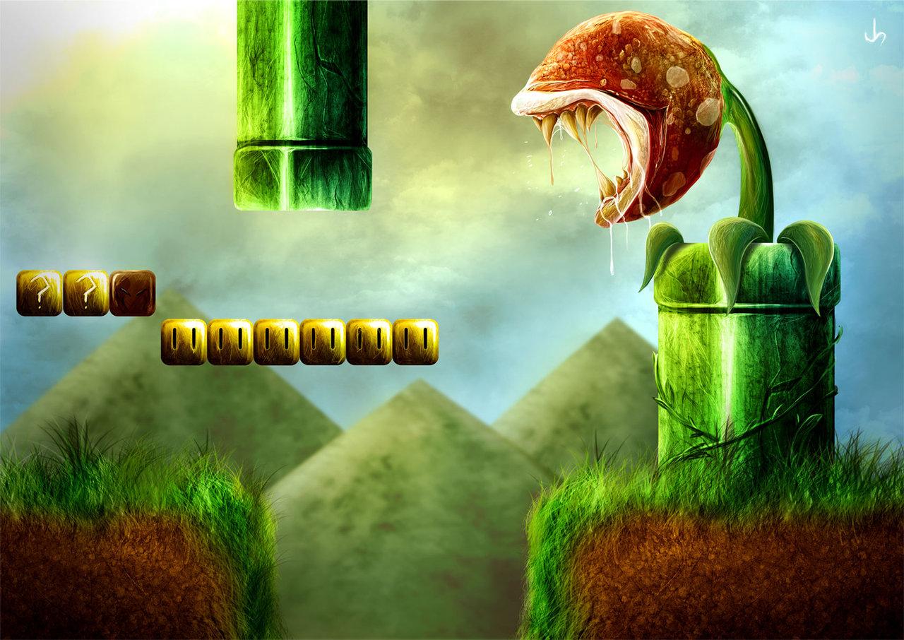50 Incredible Super Mario Bros Artworks