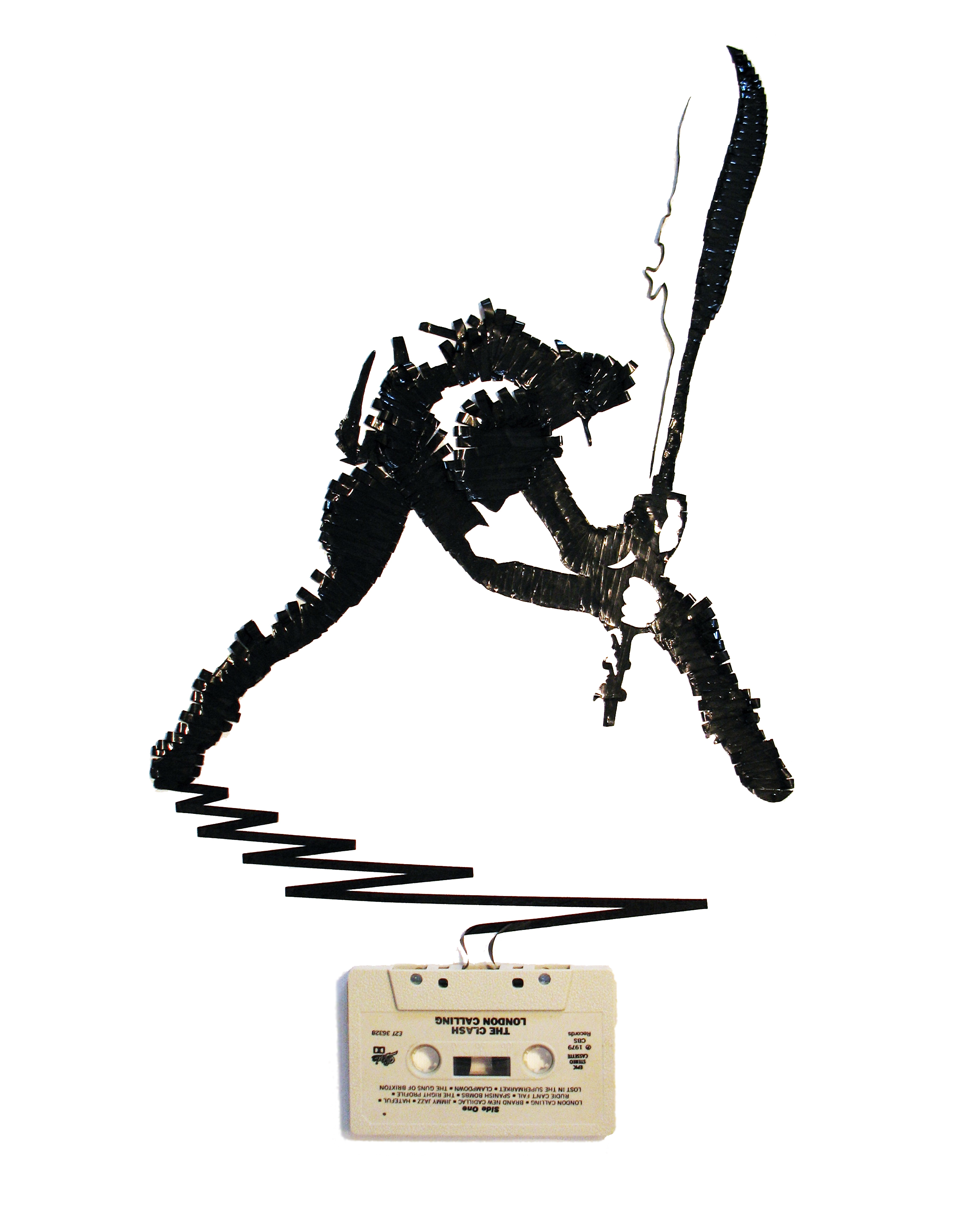 photoshop the clash1 Magnificent Cassette Art by Erika Iris Simmons