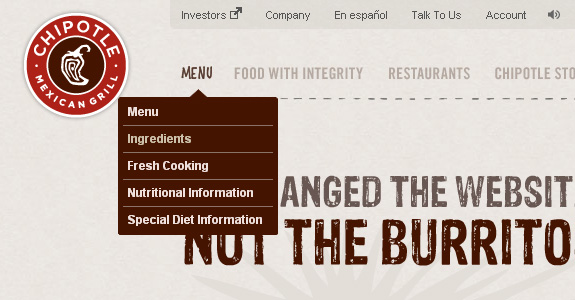 preview 7 241 30 Stunning Examples of Drop Down Menu Design