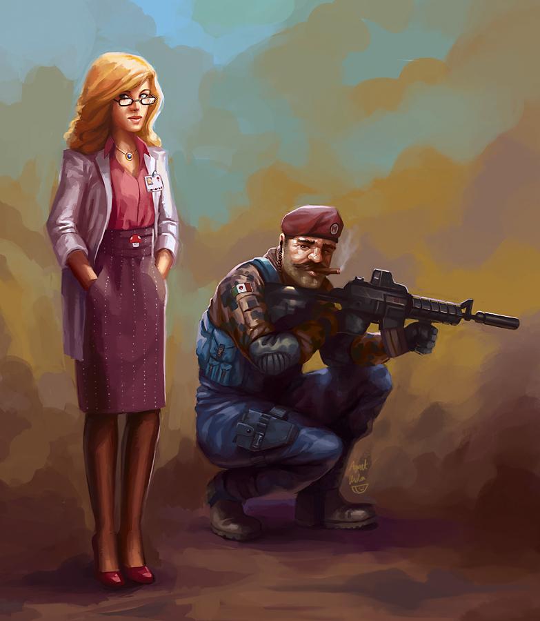 super mario warfare by agentscarlet1 50 Incredible Super Mario Bros Artworks