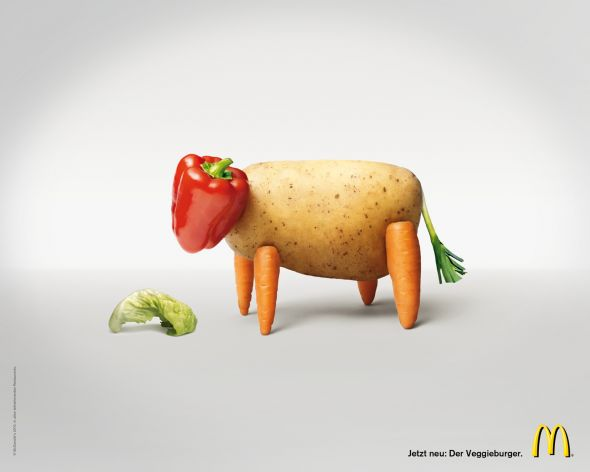 veggieburger screenshot preview1 35 Creative McDonalds Corp Advertising Practices