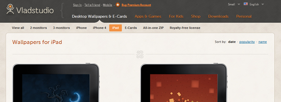 vladstudio 10 Top Notch iPad Wallpaper Websites