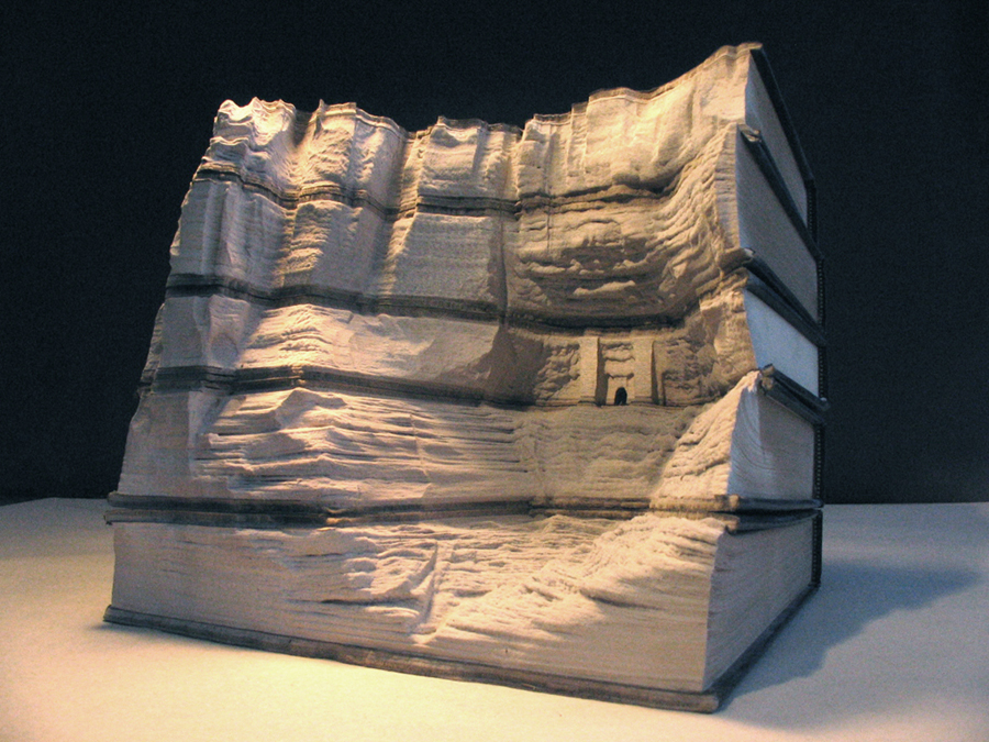 16 bookpeople2s1 Mind Blowing Book Sculptures by Guy Laramee