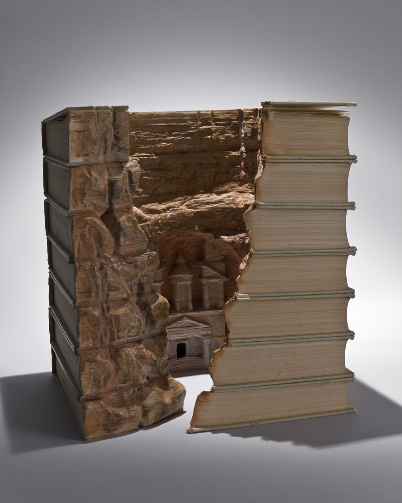 16 petras1 Mind Blowing Book Sculptures by Guy Laramee