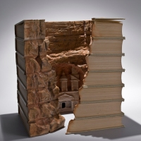 Book Sculpture Artist: Guy Laramee
