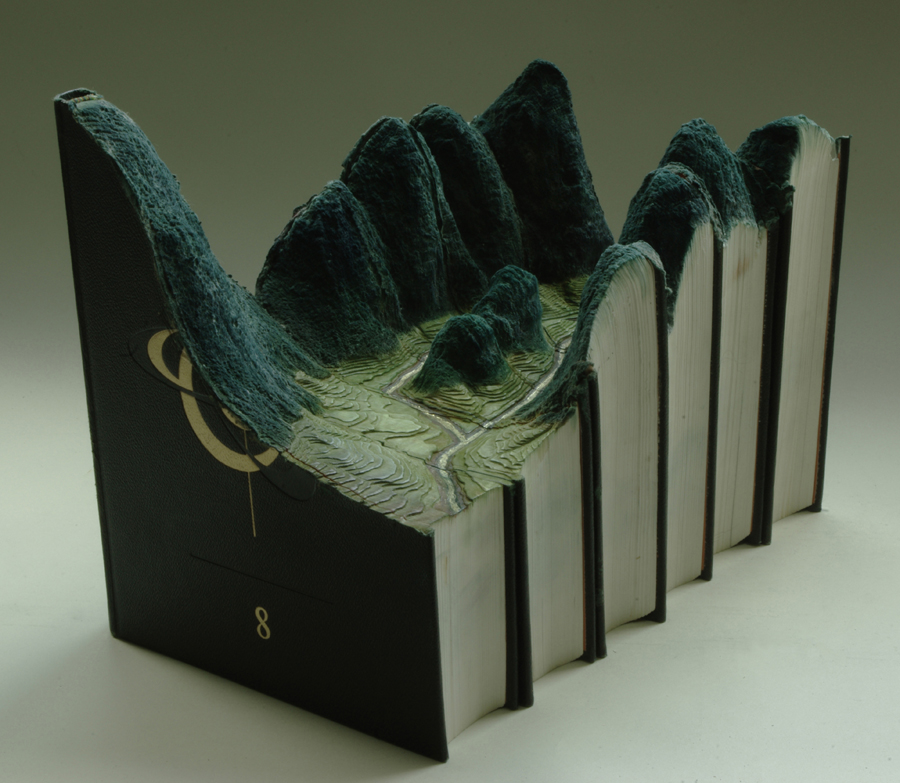 18 grand larousses1 Mind Blowing Book Sculptures by Guy Laramee