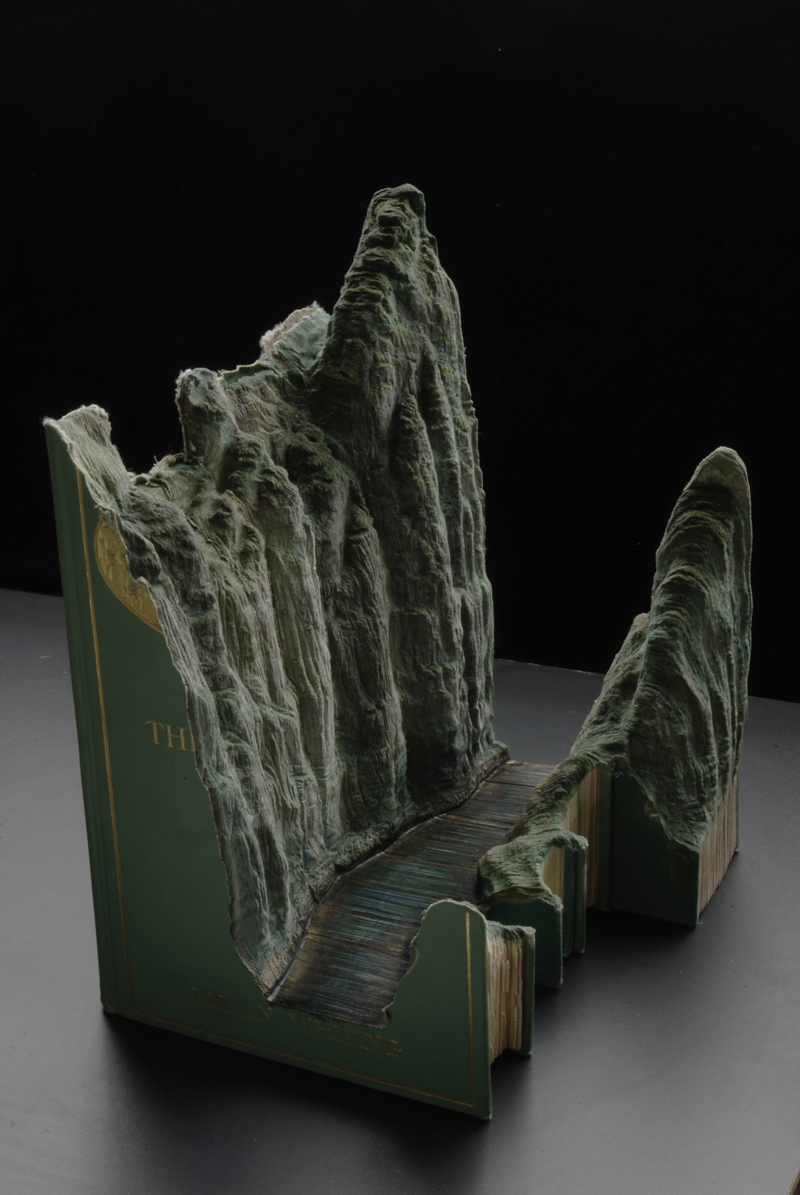 18 jades1 Mind Blowing Book Sculptures by Guy Laramee