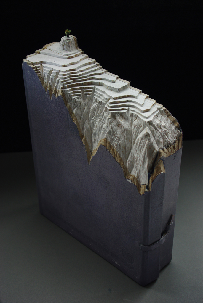 18 official reports1 Mind Blowing Book Sculptures by Guy Laramee