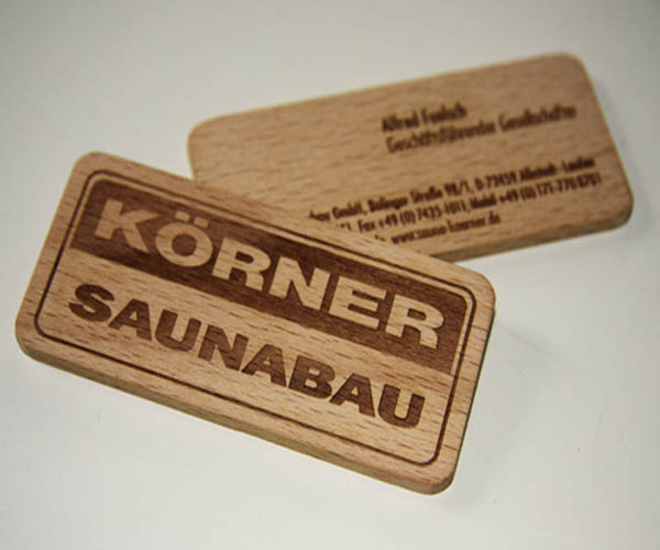 311 25 Unconventional Wooden Business Cards