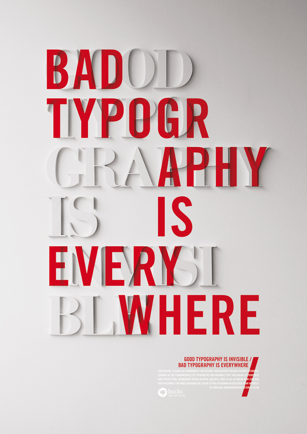 5331812109511371 60 Remarkable Examples Of Typography Design #6