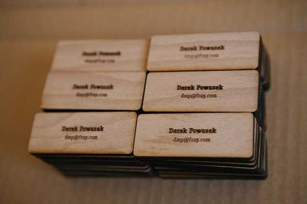 91 600x4001 25 Unconventional Wooden Business Cards