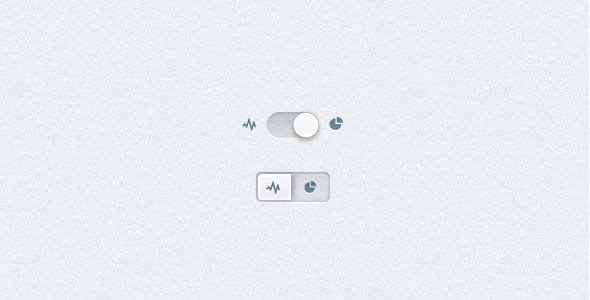 clean switch graph icon ui design1 20 Elegant User Interface Switch Designs