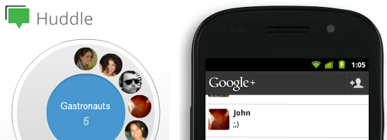 google huddle 5 Google Plus Features Facebook Should Have