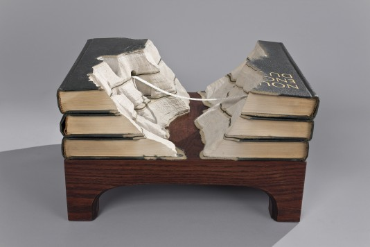 guylaramee lepont e12825806978321 Mind Blowing Book Sculptures by Guy Laramee