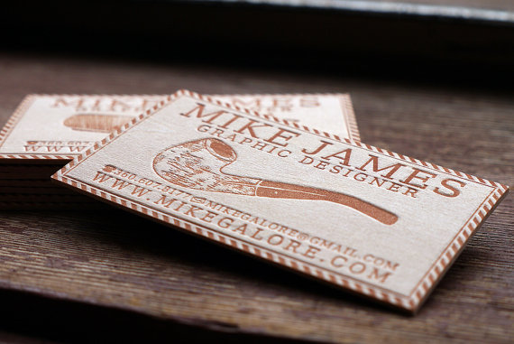 il 570xn 2662229081 25 Unconventional Wooden Business Cards