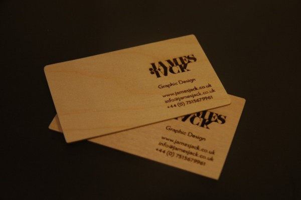 jamesjack 600x3991 25 Unconventional Wooden Business Cards