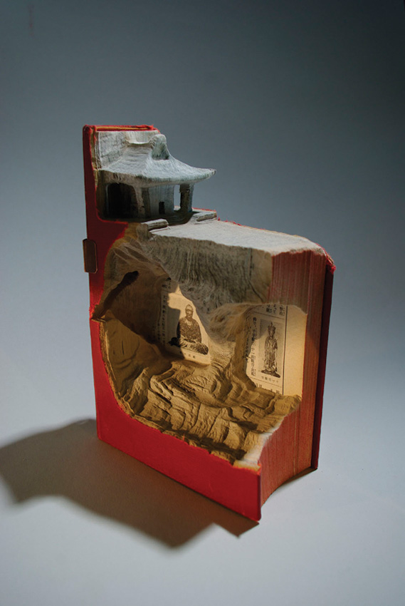 laramee1 Mind Blowing Book Sculptures by Guy Laramee