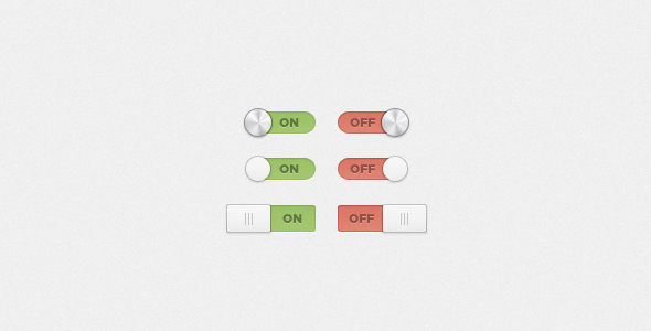 user interface element clean switches free psd download11 20 Elegant User Interface Switch Designs