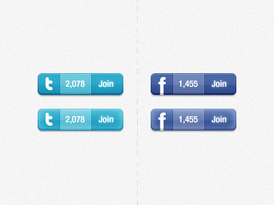 019 facebook twitter1 45+ Delicious Free Twitter Icons and Resources