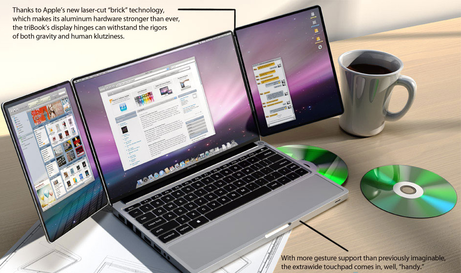 apple tribook 5 Apple Concepts We Wish Were Real