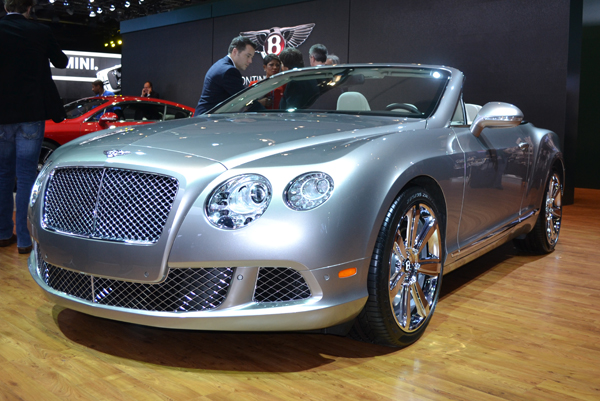 beamer benz or bently 2012 North American International Auto Show by Ford Motors