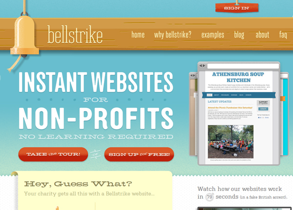 bellstrike 25 Glorious Charity and Non Profit Web Designs