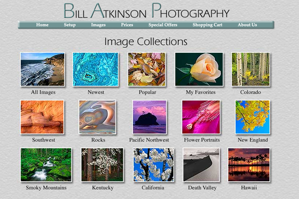 bill atkinson 10 Places to Find Amazing Nature Photography