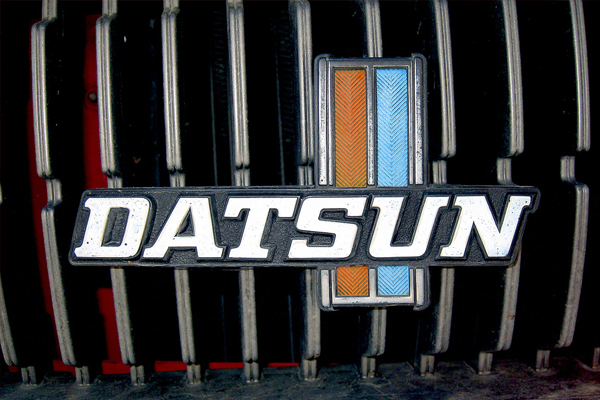datsun 50 Classic Automobile Typography Designs