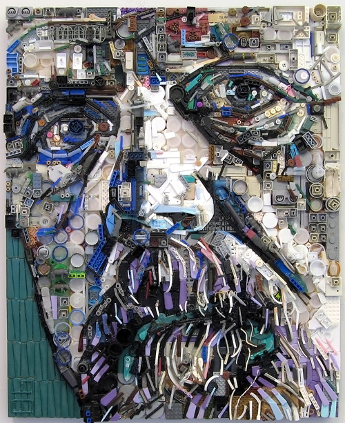 david 0005 5001 Zac Freeman Transforms Junk into Artwork