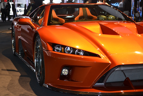 falcon f7 2012 North American International Auto Show by Ford Motors