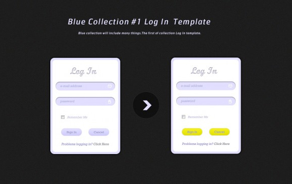 25 Free PSD Login Page Template Files | Inspirationfeed