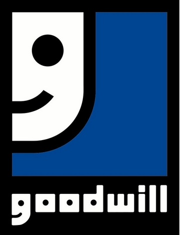 goodwill1 30 Clever Logos With Hidden Messages