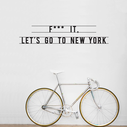 hu2 f it go new york 420px1 40 Innovative Wall Stickers by Hu2 Design