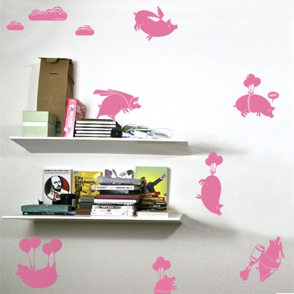Amazing Flying Pigs Sticker Pack