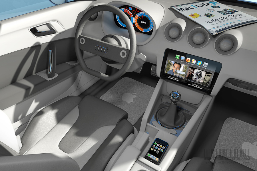 icar interior1 5 Apple Concepts We Wish Were Real