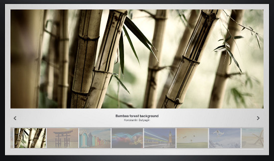 image gallery jquery slider tn3 gallery1 Top 15 Handy Jquery Image Gallery Plugins