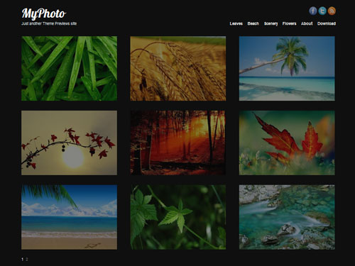 inspiration feed definitive guide to free wordpress themes for photography 19  Your Definitive Guide To Free WordPress Themes For Photography